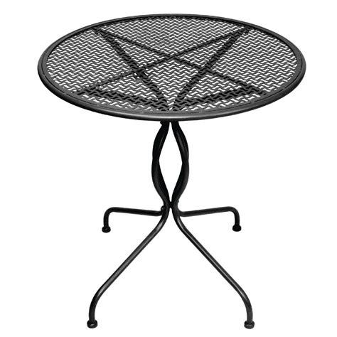 outdoor tisch rund outdoor tisch krista 170 rund schwarz 70cm m 246 bel
