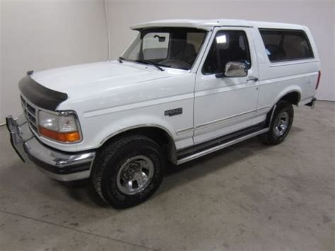 find   clean  ford bronco     spd