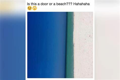 Door Or Beach? Here's Another Internet Dispute To Destroy