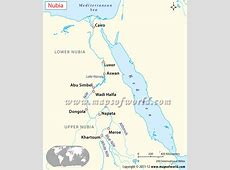 Nubia Map, Ancient Nubia History