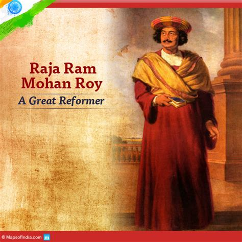 indian cuisine starters raja ram mohan roy a social reformer my india