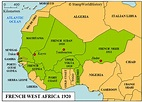 Why did the British and French colonies in Africa split ...