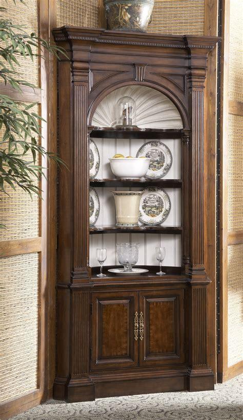 Ashley Furniture Curio Cabinet by Buy American Cherry Warwick Corner Cabinet By Fine