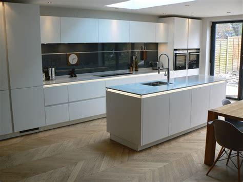 kitchen island idea recent projects true handleless kitchens co uk