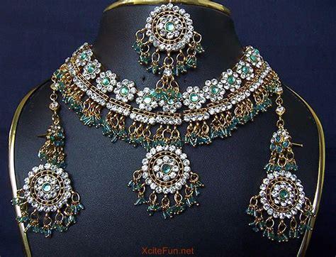 Bridal Wear Indian Heavy Jewelry in Multi Color - XciteFun.net