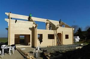 Ordre Des Travaux Construction Maison : j 39 ai construit ma maison en bois en kit ~ Premium-room.com Idées de Décoration