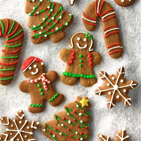 gingerbread cutout cookies recipe taste  home