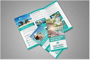 travel brochure templates for travel agencies texty cafe With tri fold travel brochure