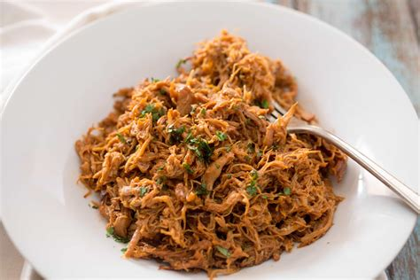 We had some potatoes to use up so i decided to try to make pulled bbq chicken to top baked potatoes with. Instant Pot BBQ Chicken {less than 30 minutes!} - Tasty ...