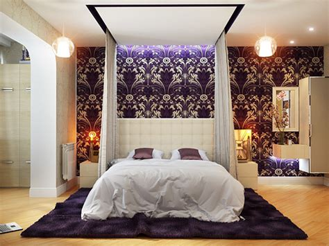 Kitchen Ideas And Designs - 20 master bedrooms with purple accents home design lover