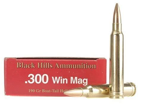 Black Hills Ammo 300 Winchester Mag 190 Grain Match