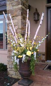Spring, Urn, Arrangement