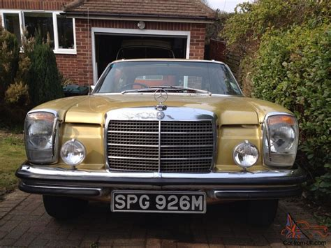 Ebay Mercedes by Mercedes 280ce Coupe Icongold Ebay Motors 321108617648