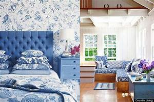 Color Diary: Decorating Blue and White Rooms (VIDEO