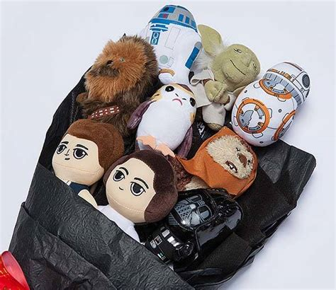 Star Wars Plush Bouquet 3.0 with 9 Cute Characters   Gadgetsin