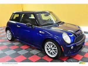 Mini Cooper 2003 : 2003 indi blue metallic mini cooper s hardtop 20078630 car color galleries ~ Farleysfitness.com Idées de Décoration