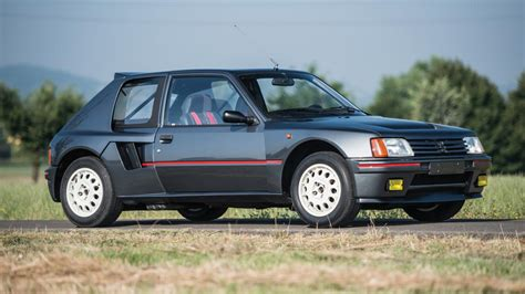 renault rally 2016 this stunning peugeot 205 t16 is up for auction and you
