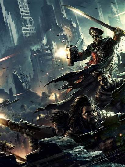 Warhammer Imperial Guard 40k Wallpapers Commissar Gaunt
