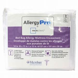 mainstays bed bug allergy mattress encasement walmartca With bed bug mattress encasement reviews