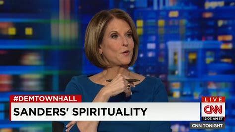 cnn gushes  spirituality  bernie sanders