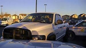 Hunt underway for alleged truck thief after RCMP vehicles ...