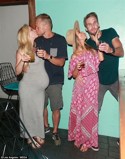 Pregnant Heidi Montag and Kaitlyn Bristowe enjoy night out ...