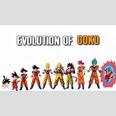 The Evolution Of Goku 19862017  Youtube