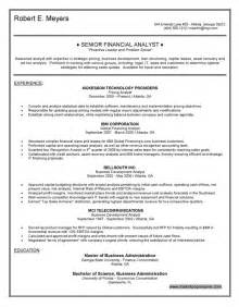Finance Resumes Objectives by Finance Resume Objective Berathen