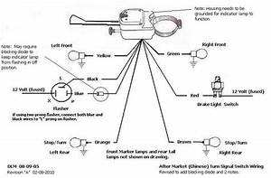Dune Buggy Universal Turn Signal Switch Instructions