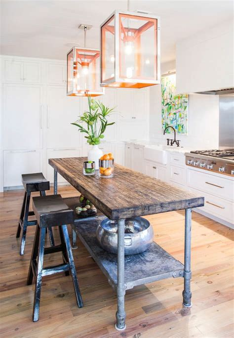 Best 25  Industrial kitchen island ideas on Pinterest
