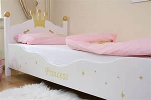Lit Princesse 90x190 : kinderbett prinzessin weiss bei oli niki online bestellen ~ Teatrodelosmanantiales.com Idées de Décoration
