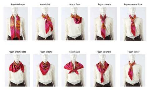 comment porter un foulard univers f 233 minin et de la mode