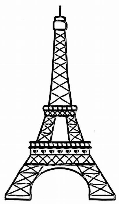 Eiffel Tower Drawing Paris Clip Clipart Transparent
