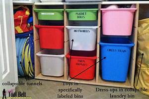 How to organize toys? Toy Organization System - Ikea hack