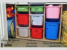 How to organize toys? Toy Organization System Ikea hack