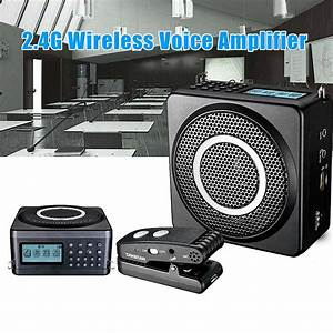 E260w 2 4g Wireless Amplifier Dual Voice Coil Speaker 1 8