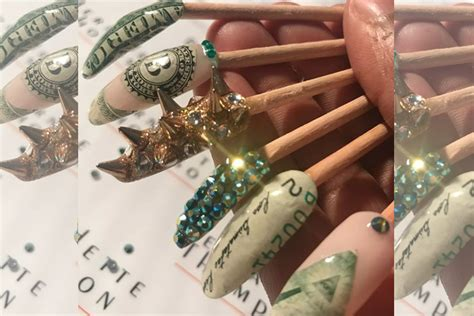 Manicurist Bernadette Thompson On Lil Kim's Money Manicure