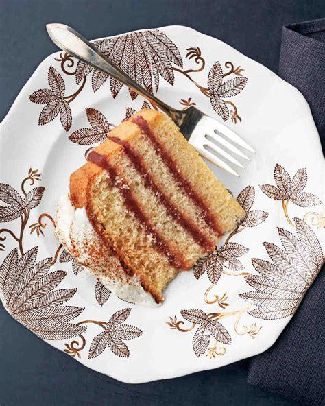 Apple Butter Layer Cake Recipe Martha Stewart Weddings