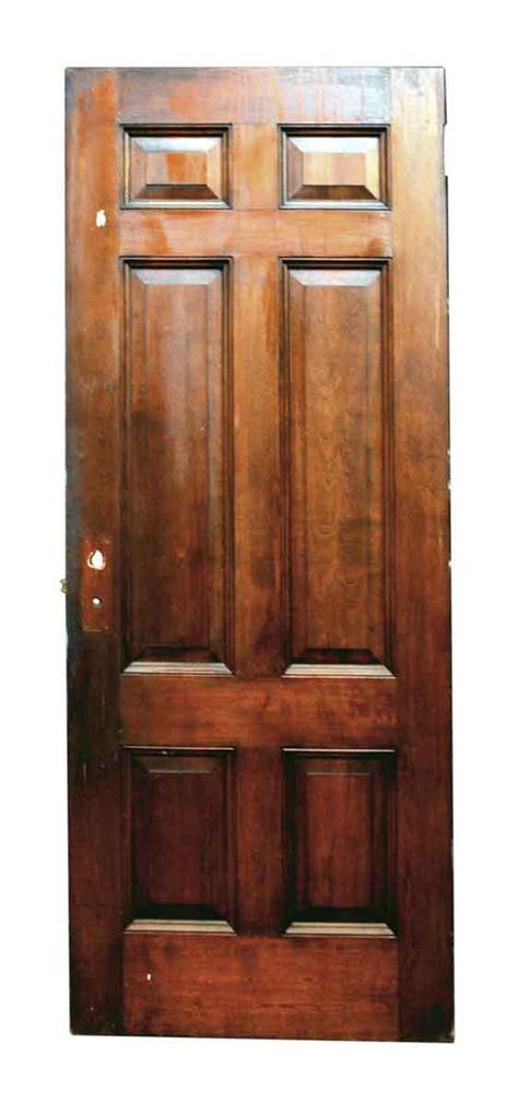 Six Panel Birch Interior Door  Olde Good Things