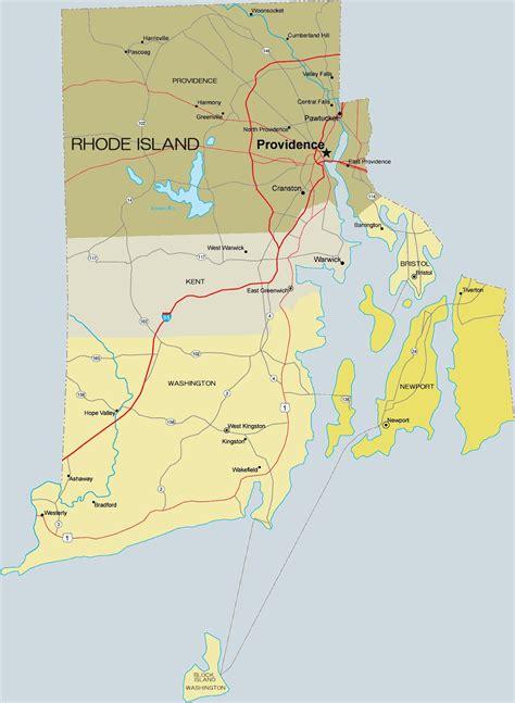 pin rhode island map  pinterest