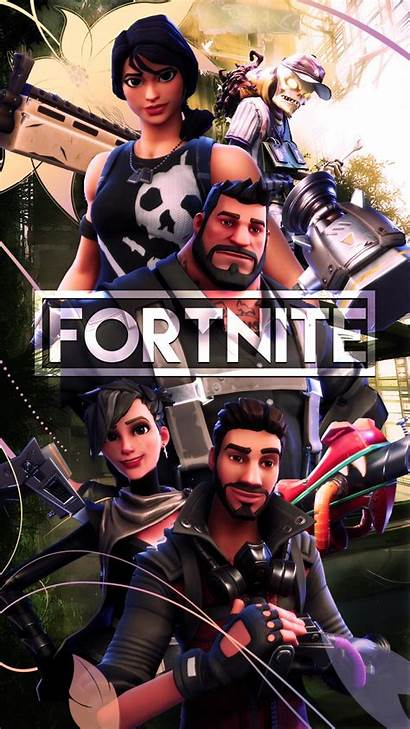 Fortnite Squad 4k Wallpapers Iphone Android
