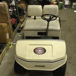 Hyundai Golf Cart Used Runs And Drives Has Minor