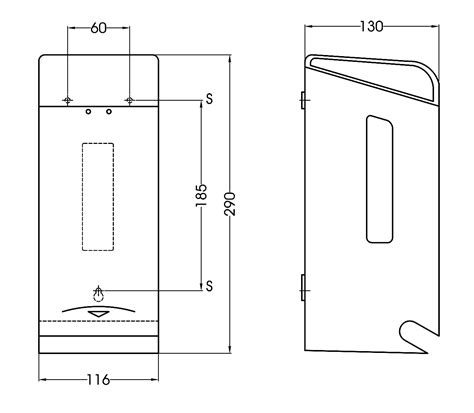 toilet paper sheet dimensions standard toilet paper dispenser pr0784c mediclinics