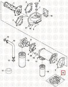 Cummins 855 86nt  U0026 88nt  Oil Cooler Installation Kit Pai P