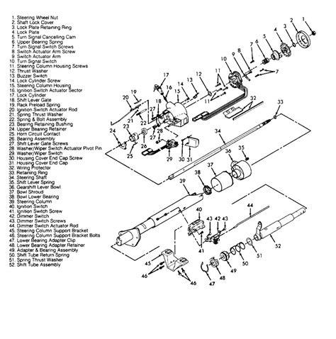 How Get Diagram Steering Column