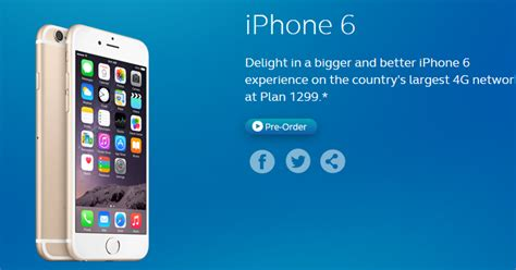 iphone 6 prepaid globe iphone 6 and iphone 6 plus prepaid and postpaid plan
