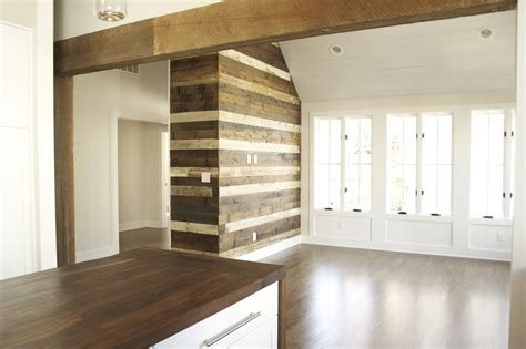 Kitchen Island Sink Ideas - wood accent wall ideas for your home