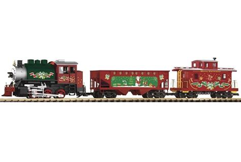 christmas train set piko g scale 37105 starter at topslots