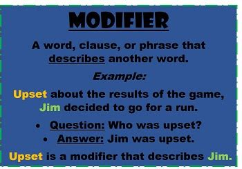 Modified Definition Grammar by How To Fix A Dangling Modifier Study