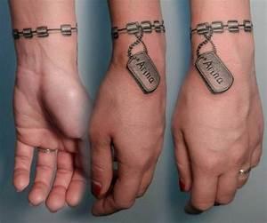 Tatouage Homme Original : tatouage bracelet id es tendance pour le poignet et pour la cheville ~ Melissatoandfro.com Idées de Décoration